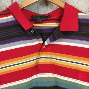 Polo by Ralph Lauren Shirts - Polo Ralph Lauren short sleeve shirt striped XLT